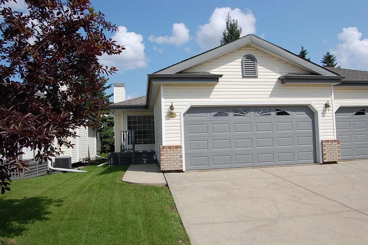 Main Photo: 22 95 GERVAIS Road: St. Albert House Half Duplex for sale : MLS®# E4166582