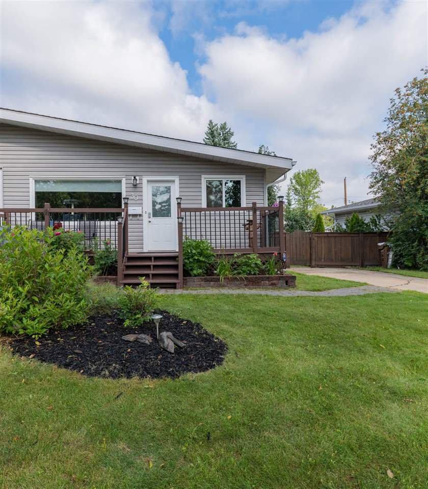 Main Photo: 30 Stanley Drive: St. Albert House Half Duplex for sale : MLS®# E4210427
