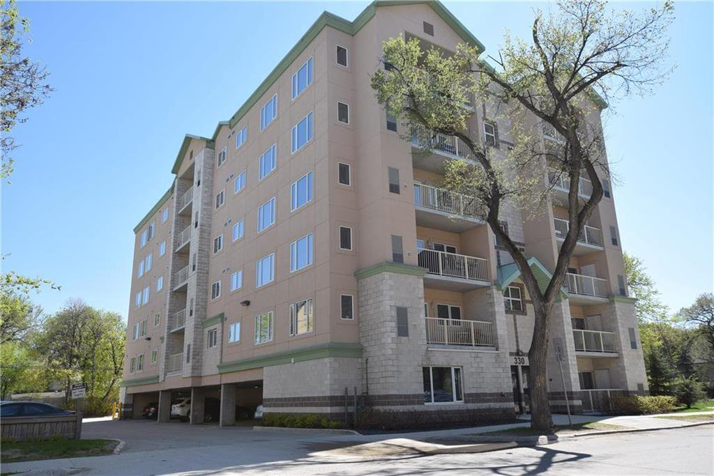 Main Photo: 504 330 Stradbrook Avenue in Winnipeg: Osborne Village Condominium for sale (1B)  : MLS®# 202100042