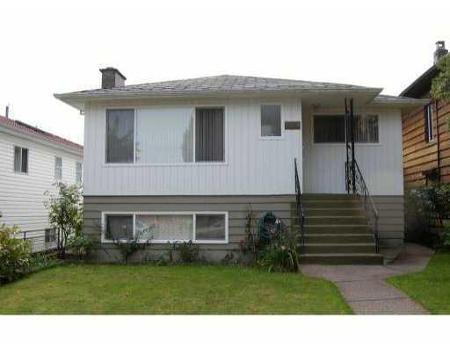 Main Photo: 3224 WILLIAM ST in Vancouver: House for sale (Renfrew VE)  : MLS®# V791921