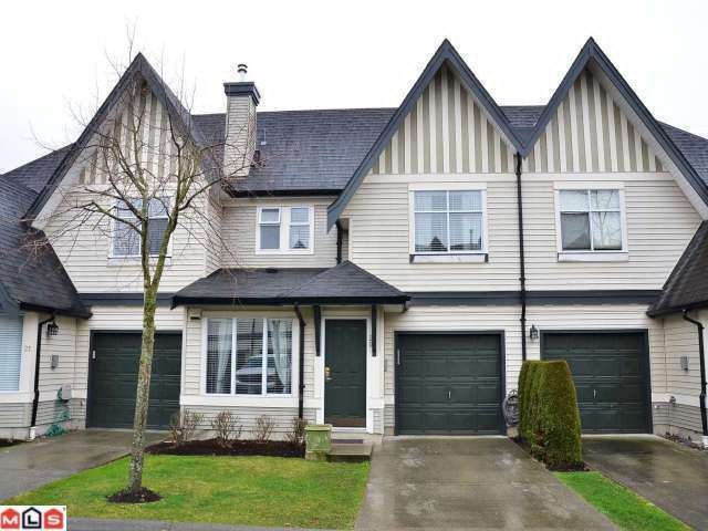 "Main Photo: 20 18883 65TH Avenue in Surrey: Cloverdale BC Townhouse for sale in ""APPLEWOOD"" (Cloverdale)  : MLS®# F1206291"
