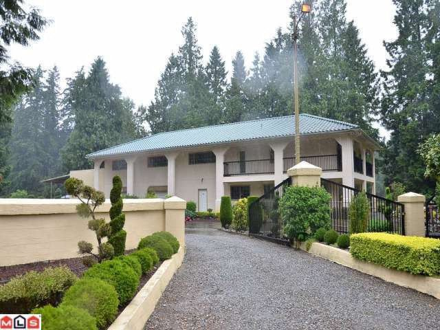 Main Photo: 725 MURCHIE Road in Langley: Campbell Valley House for sale : MLS®# F1215753