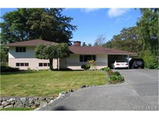 Main Photo: 2435 Alpine Crescent in VICTORIA: SE Arbutus Single Family Detached for sale (Saanich East)  : MLS®# 230697