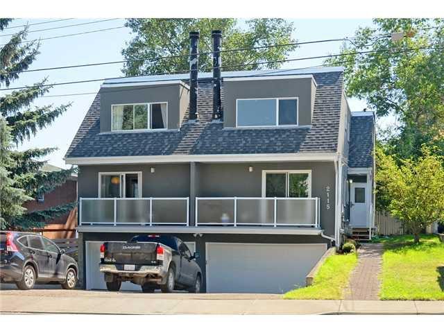 Main Photo: D 2115 35 Avenue SW in CALGARY: Garrison Woods Townhouse for sale (Calgary)  : MLS®# C3633106