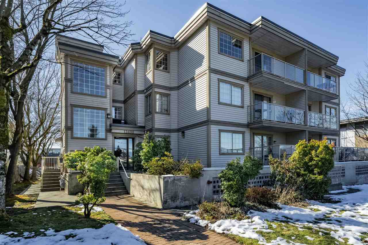 Main Photo: 310 13490 HILTON Road in Surrey: Bolivar Heights Condo for sale (North Surrey)  : MLS®# R2345481