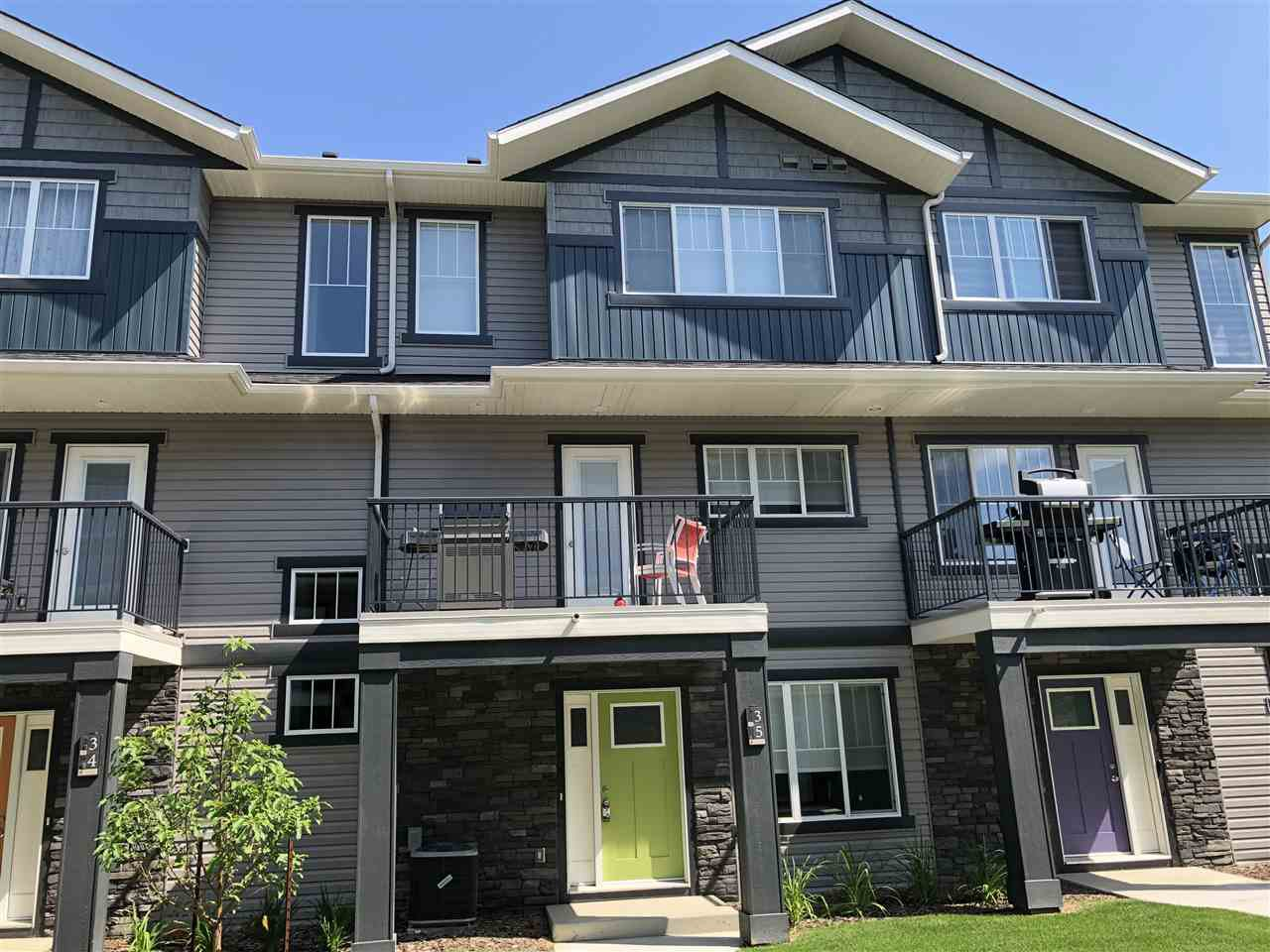Main Photo: 14 12815 Cumberland Road in Edmonton: Zone 27 Townhouse for sale : MLS®# E4213452