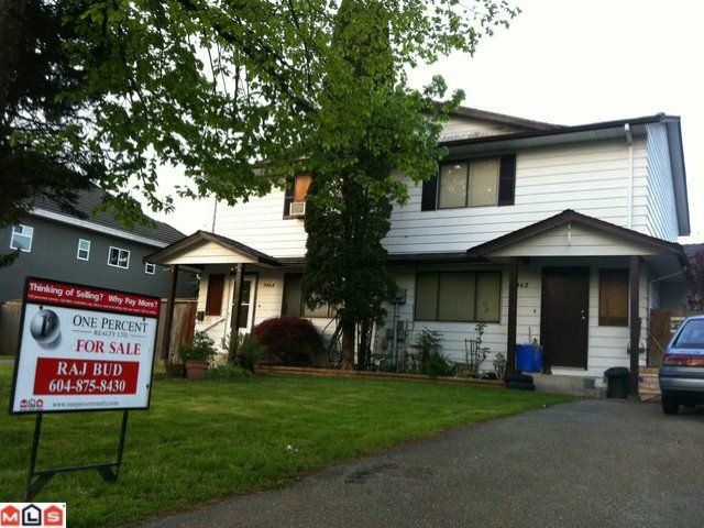 Main Photo: 9462 132A Street in Surrey: Queen Mary Park Surrey House 1/2 Duplex for sale : MLS®# F1212449