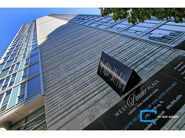 Main Photo: # 601 1499 W PENDER ST in Vancouver: Coal Harbour Condo for sale (Vancouver West)  : MLS®# V1048656