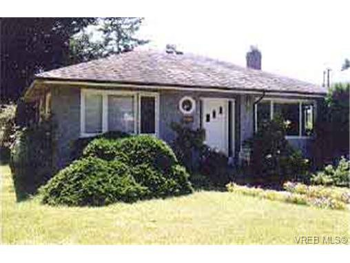 Main Photo: 1611 San Juan Ave in VICTORIA: SE Gordon Head Single Family Detached for sale (Saanich East)  : MLS®# 134391