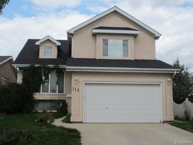 Main Photo: 114 Camirant Crescent in Winnipeg: Single Family Detached for sale (Island Lakes)  : MLS®# 1216854