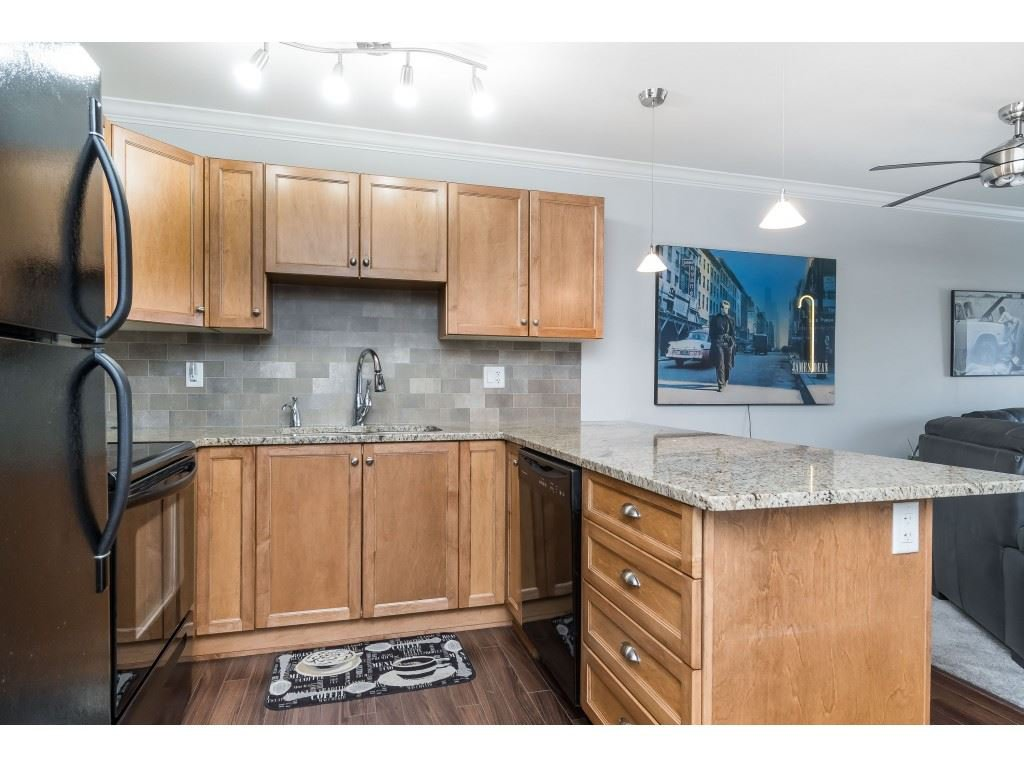 "Photo 3: Photos: 407 30525 CARDINAL Avenue in Abbotsford: Abbotsford West Condo for sale in ""Tamarind"" : MLS®# R2446195"