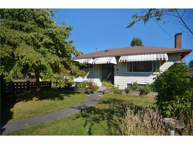 Main Photo: 473 CUMBERLAND Street in New Westminster: The Heights NW House for sale : MLS®# V970625