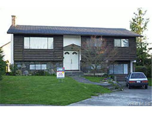 Main Photo: 1829 Chimo Close in VICTORIA: SE Lambrick Park Single Family Detached for sale (Saanich East)  : MLS®# 154030