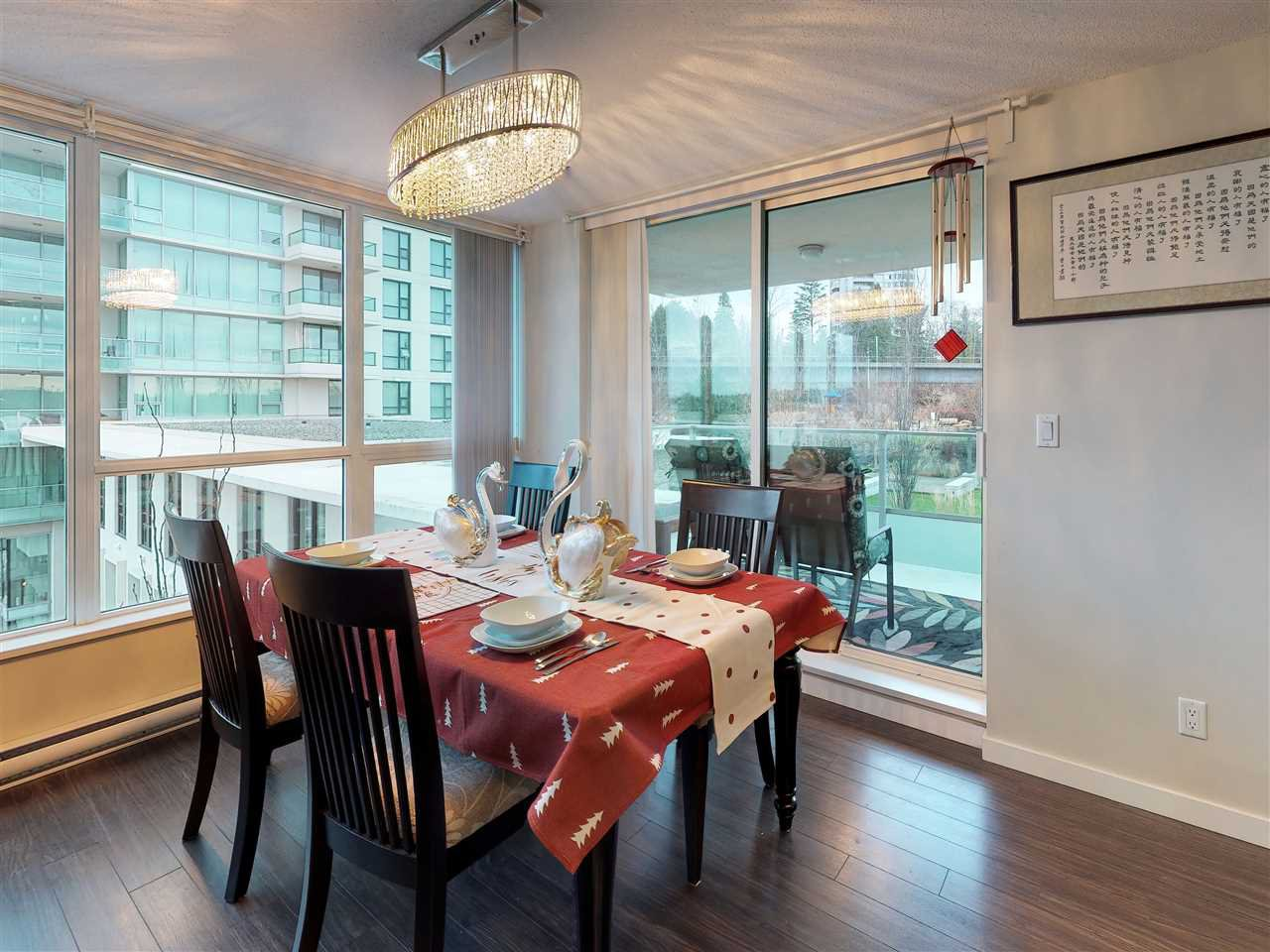 Photo 6: Photos: 405 2232 DOUGLAS ROAD in Burnaby: Brentwood Park Condo for sale (Burnaby North)  : MLS®# R2347040
