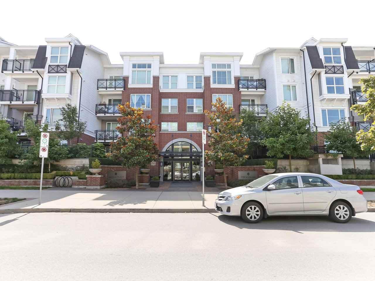 "Main Photo: 403 9388 MCKIM Way in Richmond: West Cambie Condo for sale in ""MAYFAIR"" : MLS®# R2403538"