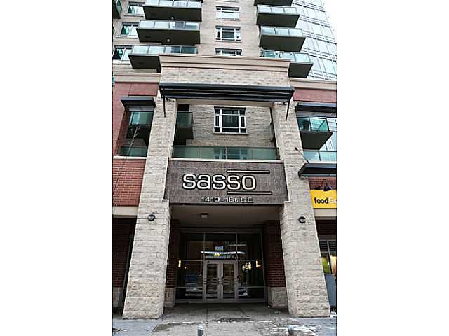 Main Photo: 1703 - 1410 1 Street SE in Calgary: Beltline Condo for sale : MLS®# C3609862