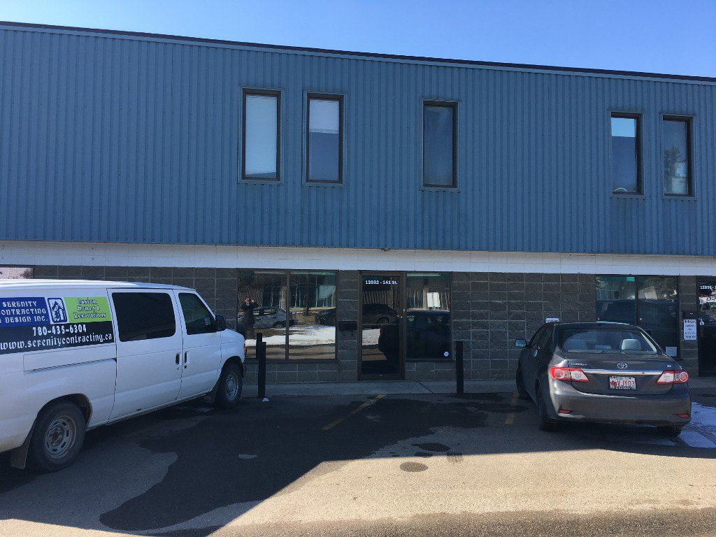 Main Photo: 12832 141 Street in Edmonton: Industrial for sale or lease