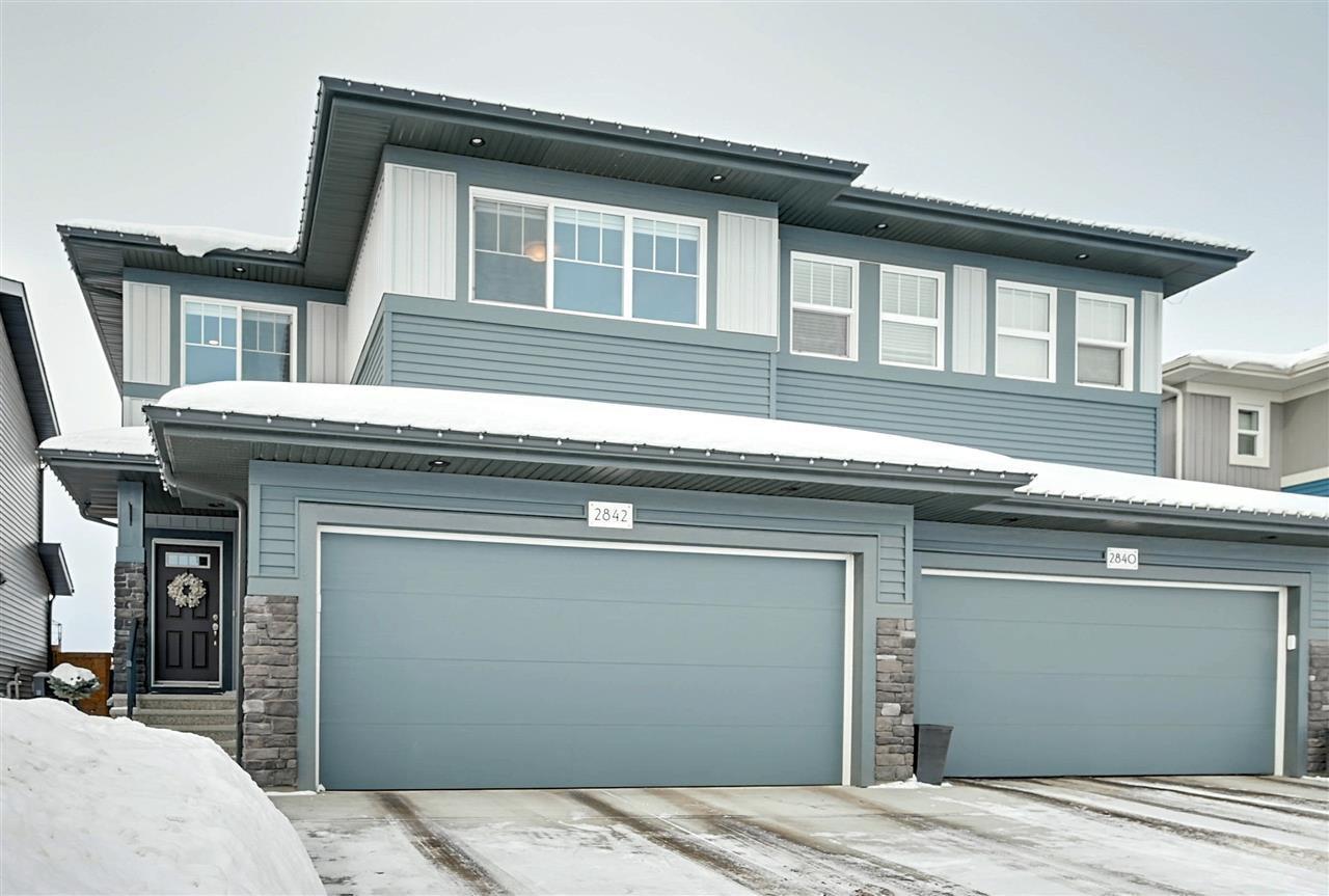 Main Photo: 2842 KOSHAL Crescent in Edmonton: Zone 56 House Half Duplex for sale : MLS®# E4186147