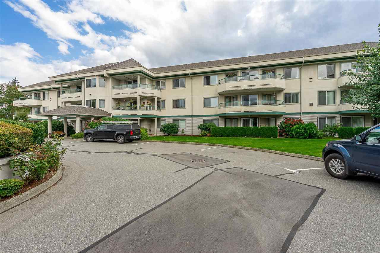 "Main Photo: 120 2451 GLADWIN Road in Abbotsford: Abbotsford West Condo for sale in ""Centennial Court"" : MLS®# R2441924"