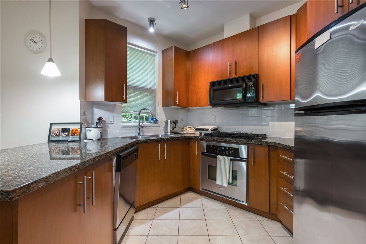 """Main Photo: 107 3551 FOSTER Avenue in Vancouver: Collingwood VE Condo for sale in """"FINALE WEST"""" (Vancouver East)  : MLS®# R2499336"""