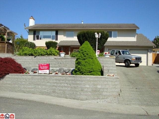 """Main Photo: 2300 ANORA Drive in Abbotsford: Abbotsford East House for sale in """"MCMILLAN"""" : MLS®# F1204625"""