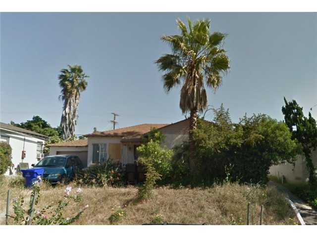 Main Photo: SAN DIEGO House for sale : 3 bedrooms : 6209 Malcolm Drive
