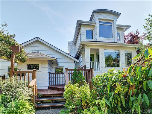 Main Photo: 169 Bushby St in VICTORIA: Vi Fairfield West Half Duplex for sale (Victoria)  : MLS®# 640051