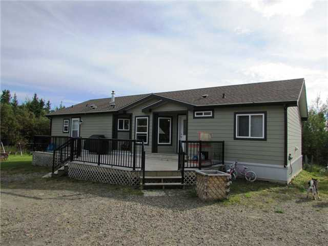 "Main Photo: 19273 WONOWON Road in Fort St. John: Fort St. John - Rural W 100th Manufactured Home for sale in ""WONOWON"" (Fort St. John (Zone 60))  : MLS®# N230467"