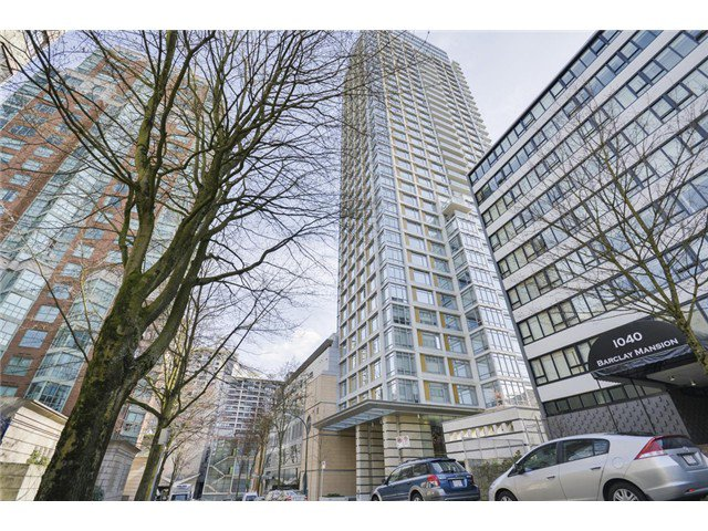 Main Photo: 1703 1028 BARCLAY Street in Vancouver: Condo for sale : MLS®# V1058354