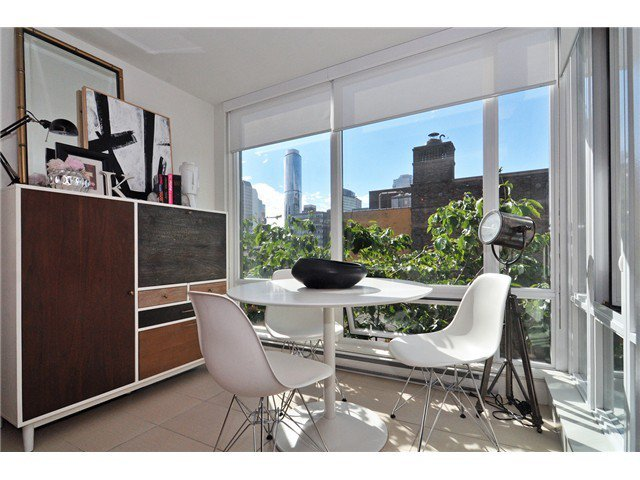 Photo 6: Photos: # 606 565 SMITHE ST in Vancouver: Downtown VW Condo for sale (Vancouver West)  : MLS®# V1086466