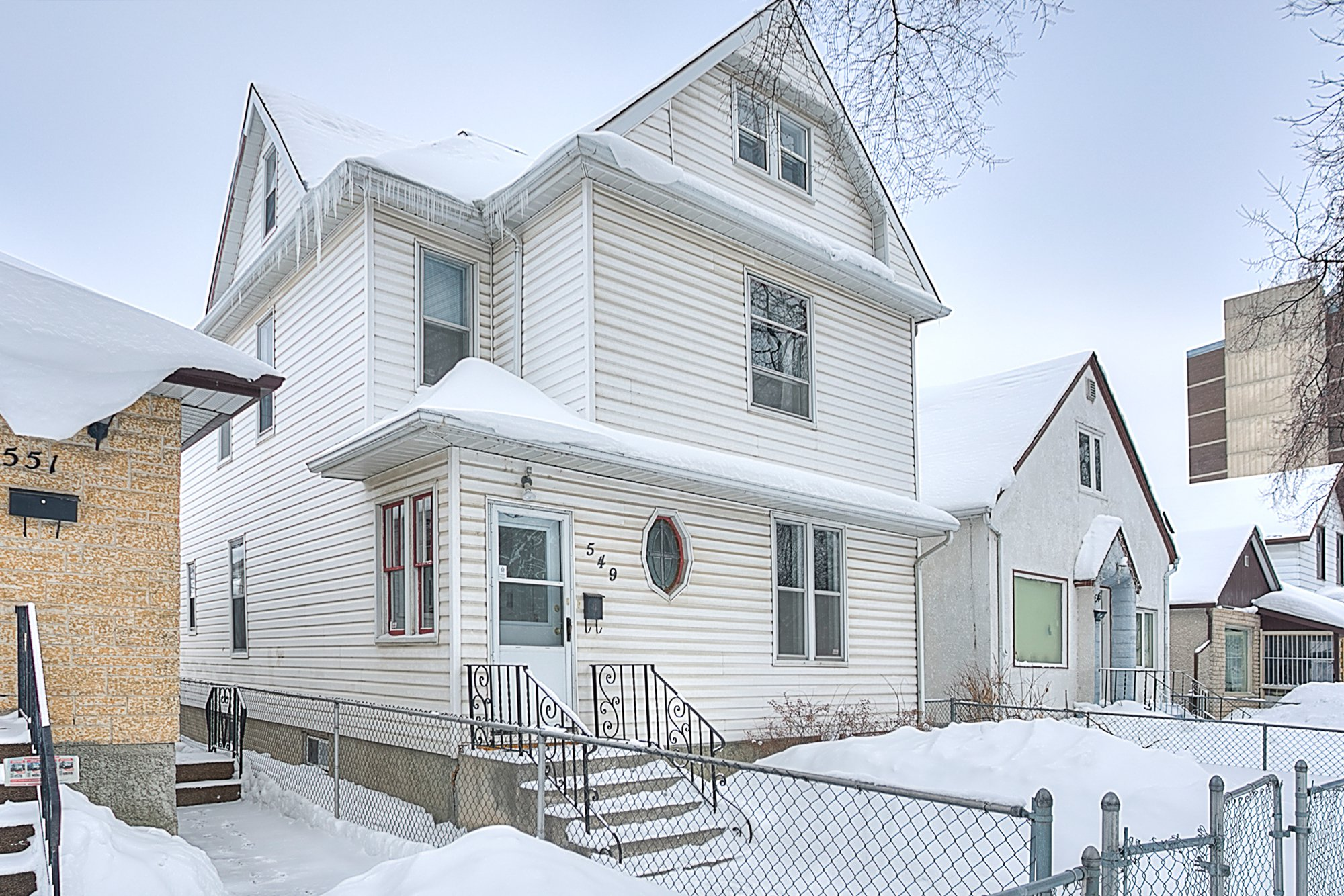 Main Photo: 549 Elgin Avenue in Winnipeg: West End Single Family Detached for sale (5A)  : MLS®# 1903292