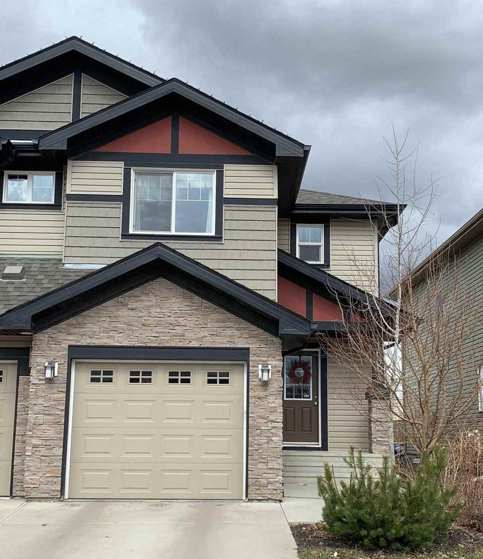 Main Photo: 16004 10 Avenue in Edmonton: Zone 56 House Half Duplex for sale : MLS®# E4173548