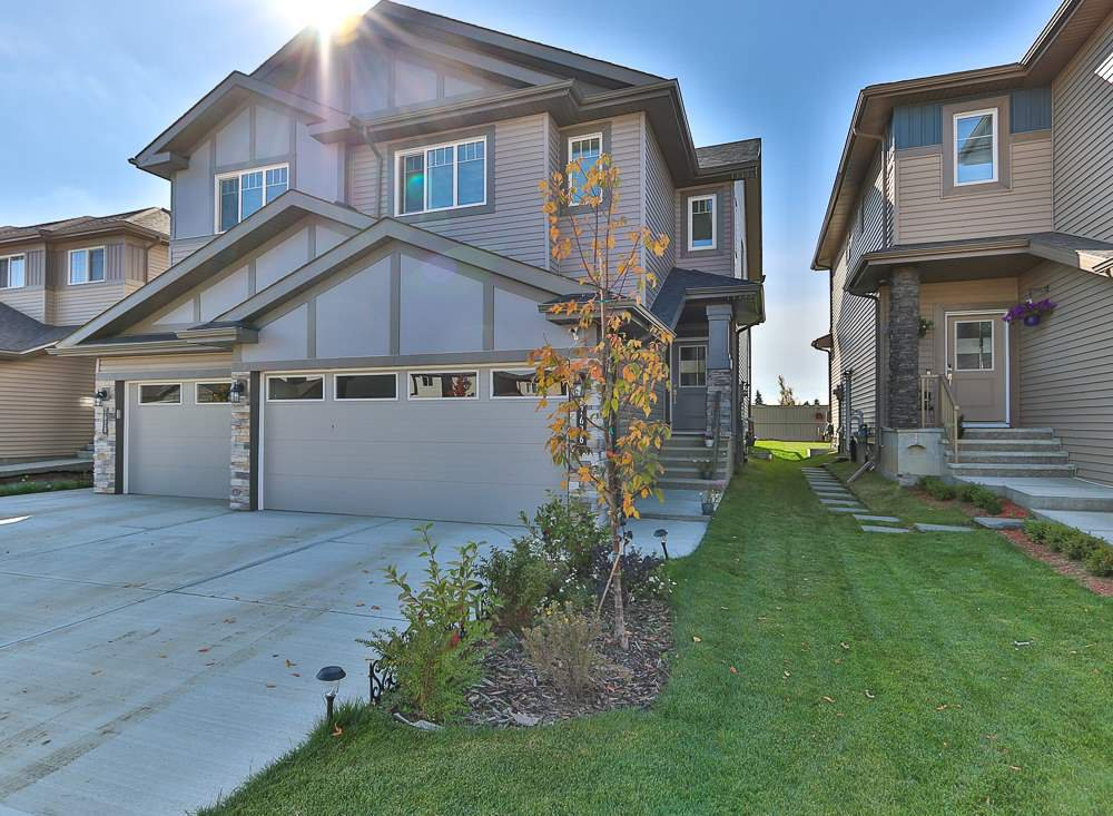 Main Photo: 7626 CREIGHTON Place in Edmonton: Zone 55 House Half Duplex for sale : MLS®# E4174100