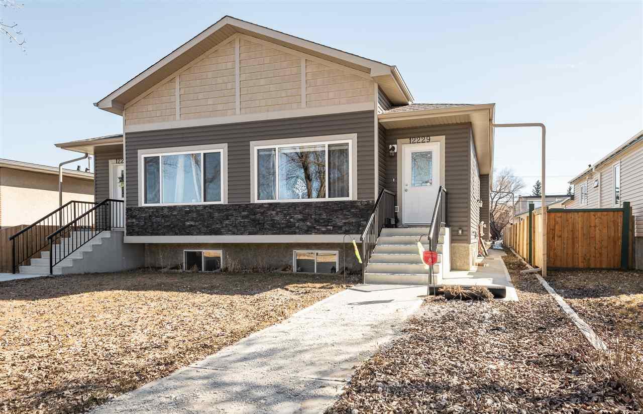 Main Photo: 12229 83 Street in Edmonton: Zone 05 House Half Duplex for sale : MLS®# E4175883