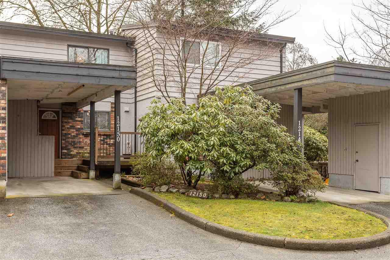 "Main Photo: 12150 FABER Crescent in Maple Ridge: Northwest Maple Ridge Townhouse for sale in ""WOODLAND PARK"" : MLS®# R2447406"