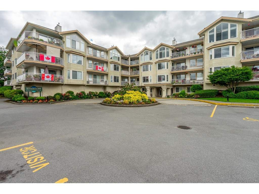 "Main Photo: 208 20600 53A Avenue in Langley: Langley City Condo for sale in ""RIVER GLEN ESTATE"" : MLS®# R2469647"