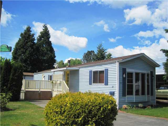"Main Photo: 71 145 KING EDWARD Street in Coquitlam: Maillardville Manufactured Home for sale in ""MILL CREEK VILLAGE"" : MLS®# V952658"
