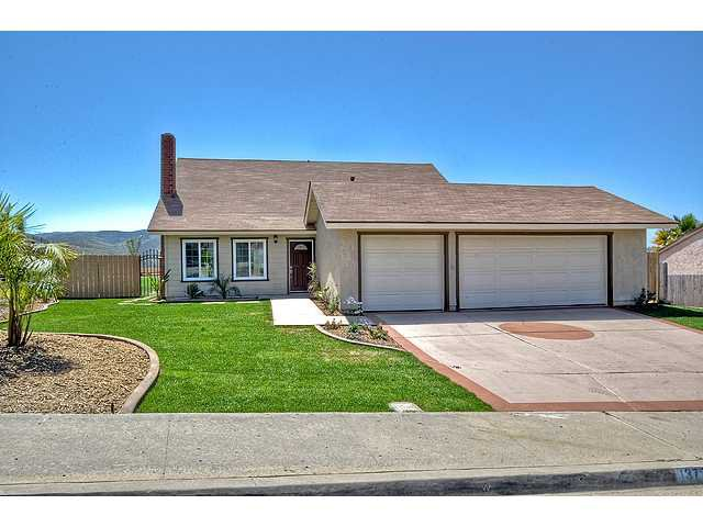 Main Photo: POWAY House for sale : 4 bedrooms : 13770 Celestial Road