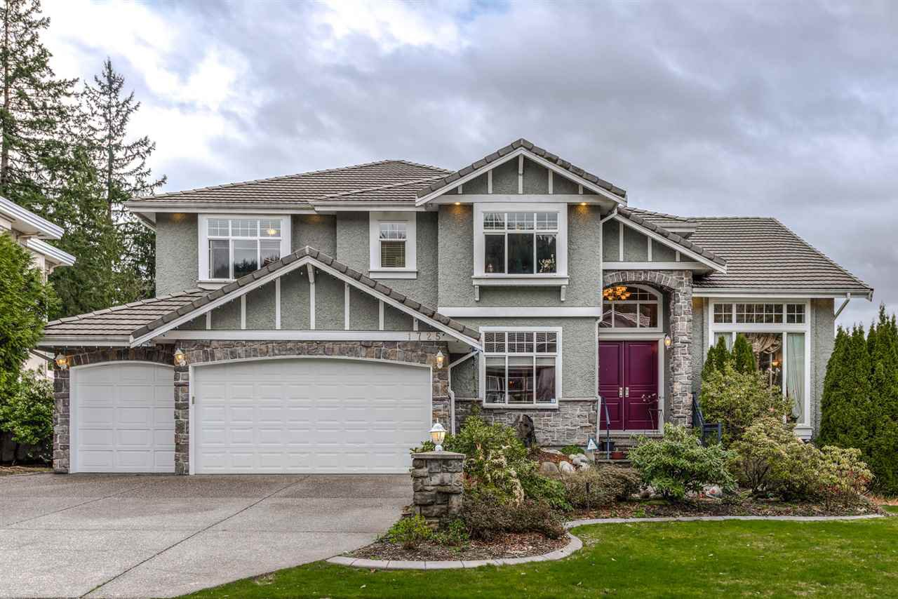 Main Photo: 1725 HAMPTON DRIVE in Coquitlam: Westwood Plateau House for sale : MLS®# R2050590