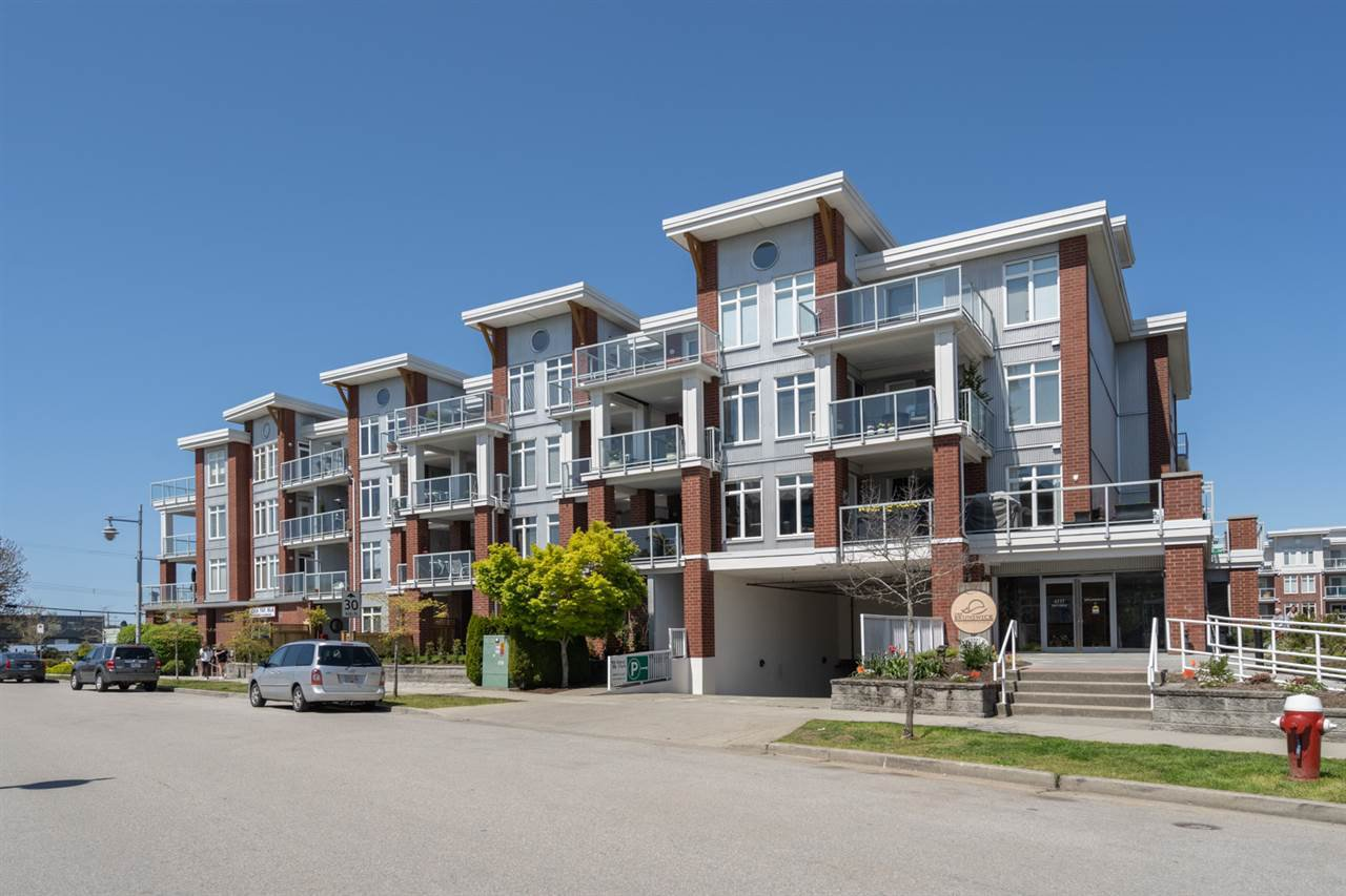 "Main Photo: 408 4111 BAYVIEW Street in Richmond: Steveston South Condo for sale in ""THE VILLAGE"" : MLS®# R2455137"