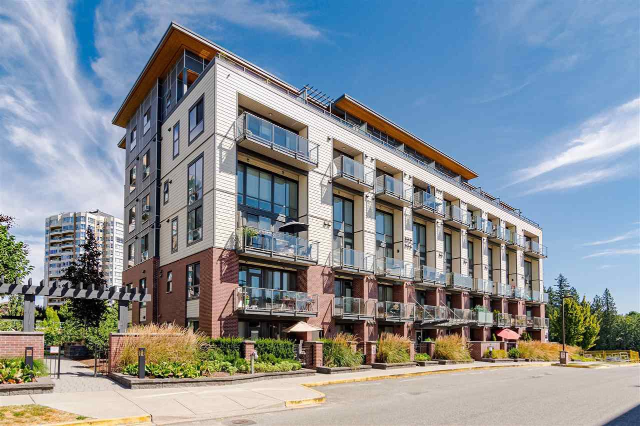 "Main Photo: 515 3080 GLADWIN Road in Abbotsford: Central Abbotsford Condo for sale in ""HUDSON'S  LOFT"" : MLS®# R2480675"