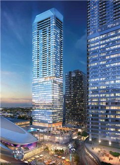 Main Photo: 3606 10360 102 Street in Edmonton: Zone 12 Condo for sale : MLS®# E4208993