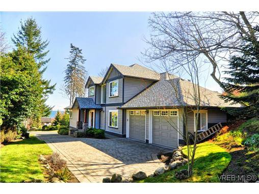 Main Photo: 4580 Gordon Point Drive in VICTORIA: SE Gordon Head Single Family Detached for sale (Saanich East)  : MLS®# 306337