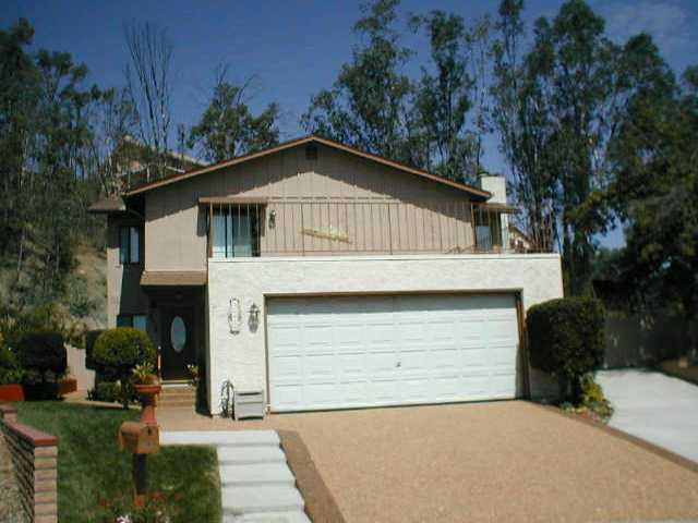 Main Photo: EL CAJON House for sale : 4 bedrooms : 12414 Rosey Road