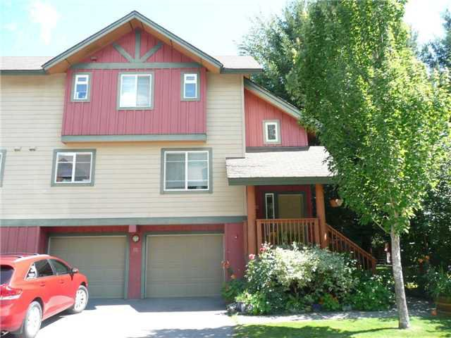 Main Photo: 12 1450 Vine Road in Pemberton: Townhouse for sale : MLS®# V965384