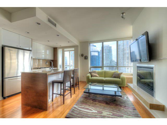 Main Photo: # 1101 1005 BEACH AV in Vancouver: West End VW Condo for sale (Vancouver West)  : MLS®# V1049393