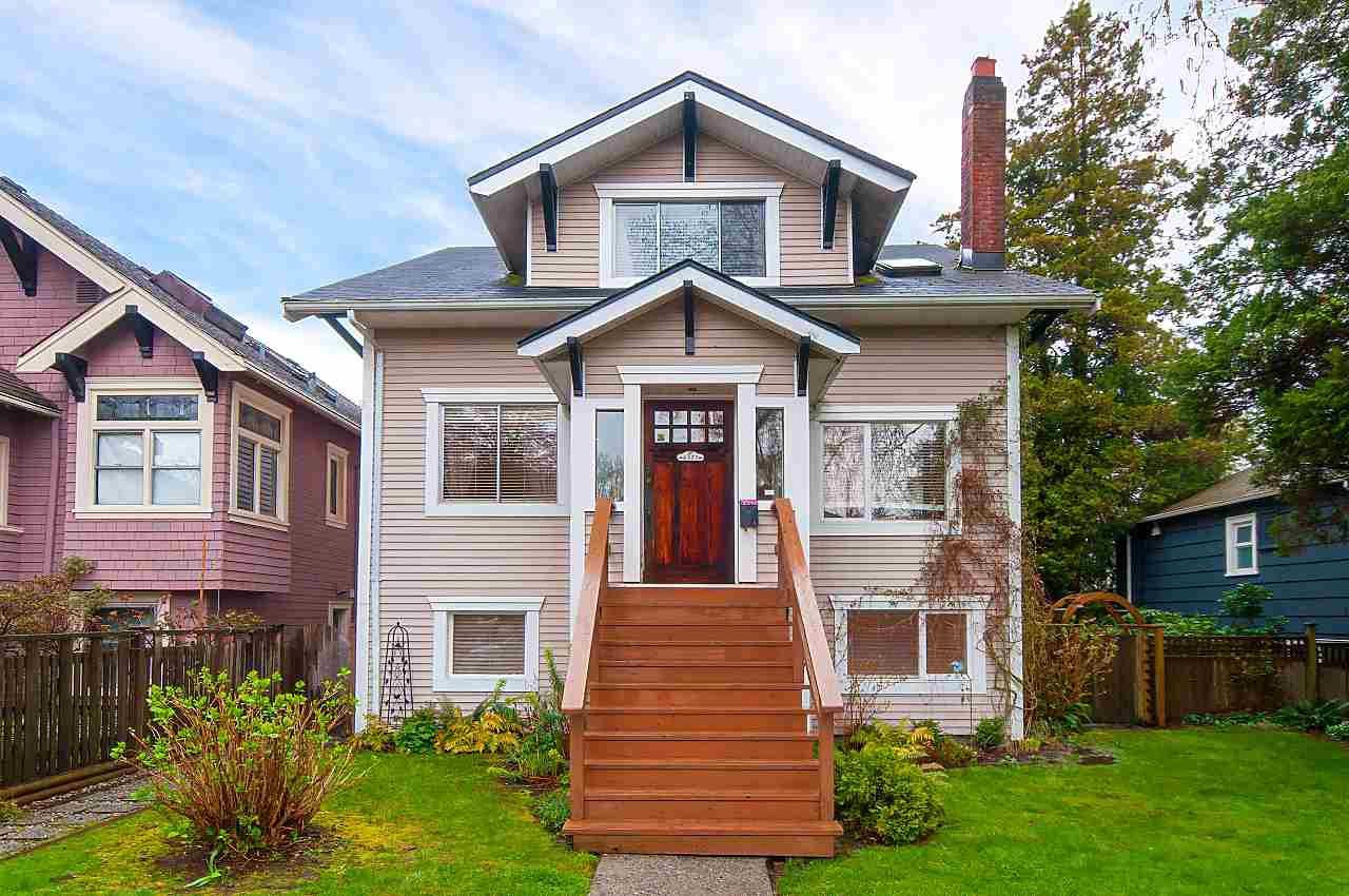 Main Photo: 4377 W 14TH Avenue in Vancouver: Point Grey House for sale (Vancouver West)  : MLS®# R2450848