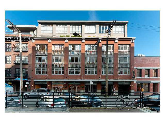 "Main Photo: # 304 1072 HAMILTON ST in Vancouver: Yaletown Condo for sale in ""Crandall Building"" (Vancouver West)  : MLS®# V996854"