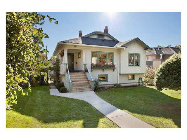 Main Photo: 2170 W 47TH AV in Vancouver: Kerrisdale House for sale (Vancouver West)  : MLS®# V1034014