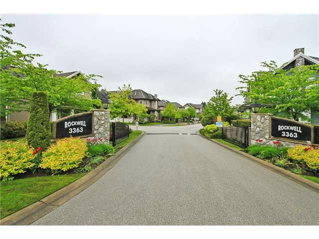 Main Photo: # 40 3363 ROSEMARY HEIGHTS CR in Surrey: Morgan Creek Condo for sale (South Surrey White Rock)  : MLS®# F1419972